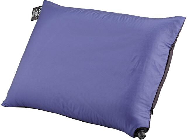 Cocoon Air Core Pillow Hyperlight, black/dark blue